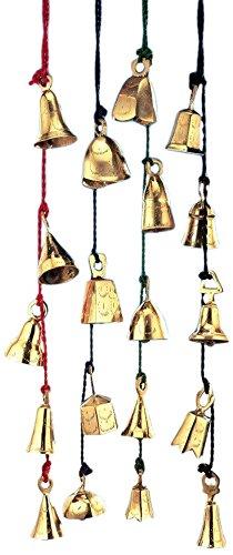 stealstreet 94cm verschiedene Messing Glocken auf Geflochtene Schnur