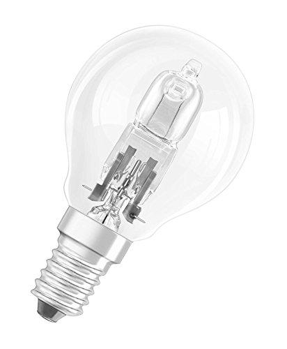 Osram Halogen-Lampe, Classic P, E14-Sockel, Dimmbar, 30 Watt - Ersatz für 40 Watt, Warmweiß - 2700K, 5er-Pack
