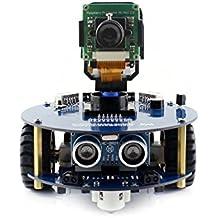 @WENDi AlphaBot2 Robot Building Kit for Raspberry Pi Zero W, with Controller Raspberry Pi Zero W, AlphaBot2-Base, RPi Camera (B) etc.