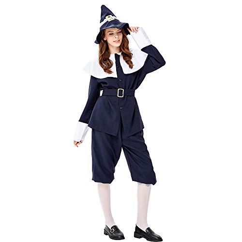 SJWSJW Halloween-Dschungel-jäger-Rolle-Spiel-Party-kostüm Big Grey Wolf Und Rotkäppchen Kapuze Hunter Kostüm Kostüm XL (Kapuzen Jäger Kostüm Für Erwachsene)