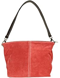 Girly HandBags New Genuine Suede Leather Handbag Shoulder Bag Tote