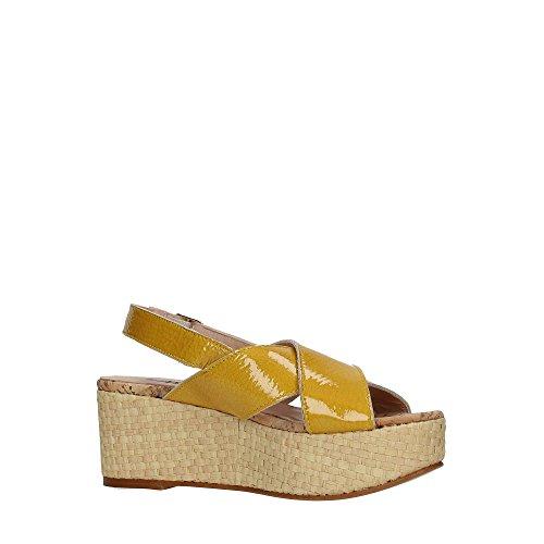 Manas 171M3301SW Chaussures Compensées Femme GIALLO