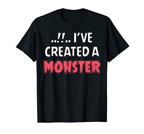 Vater Sohn Partnerlook Shirt I Have Created A Monster T-Shirt