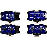 Beachtek MCC-2 DSLR Adaptateur audio-vidéo-microphone avec entrées L, R et stéréo et sortie Prises 3,5 mm