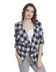 VERO MODA Womens Cotton Cardigan (10194016_Navy Blazer_XS)