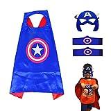 Best Costumes pour toutes les occasions Capes - Costumes de Super Héros pour Enfants LMYTech Masque Review