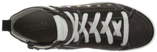 Superfit Siena 20049402 Mädchen Sneaker Schwarz (schwarz kombi 02)