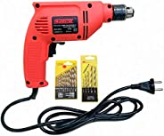 Cheston 10mm Powerful Drill Machine Screwdriver Reverse Forward Rotation with Variable Speed for Wall, Metal,