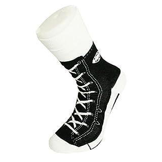 Sneaker Socken in schwarz - Turnschuhe Strümpfe im Paar