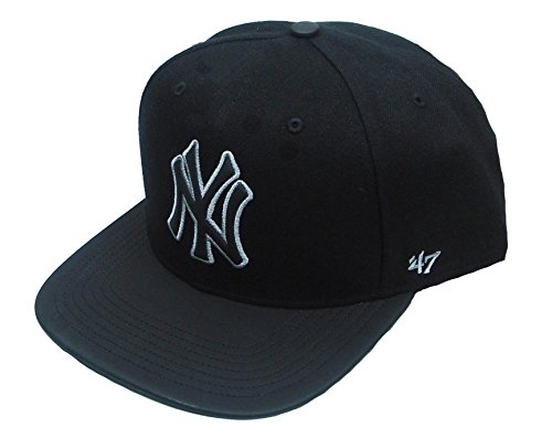 47 Brand New York Yankees MLB Snapback Cap Night Terror CAPTION 3a88ef89537
