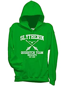 Felpa SLYTHERIN QUIDDITCH HARRY POTTER - FILM by Mush Dress Your Style