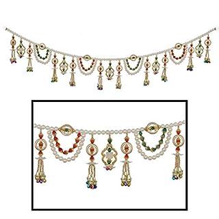 Toran Door Hanging Toran Window Valance Dream Catcher Home Décor interior pooja bandanwaar Diwali gift festival colorful indian handicraft love.TORAN60