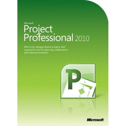 MS Project Pro 2010 32bit 64bit DVD (FR)