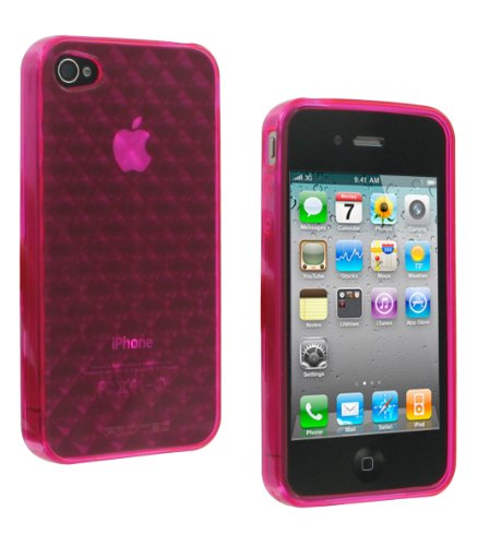 CASE-IT CSIP4QPI Quilted CASE iPhone 4/4S PINK