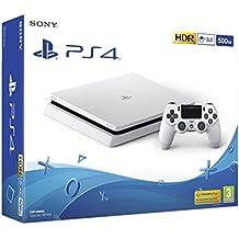 Sony PS4 500GB Slim Console (White)