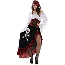 My Other Me - Disfraz para mujer Pirata Bandana, M/L (Viving Costumes 200626)