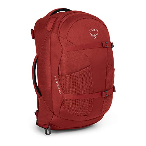 Osprey Herren Travel Pack Farpoint 40, Jasper Red, S/M, 5-503-2-1