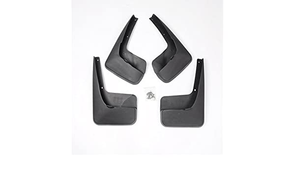 Wotefusi Car New 4 Pieces Front /& Rear Mud Flaps Splash Guards Mudflaps Mudguard For Chrysler Grand Voyager 2011 2012 2013 2014 2015