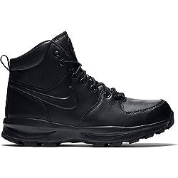 Nike Herren Manoa Lthr Kletterschuhe, Schwarz (Black 454350-003), 42 EU