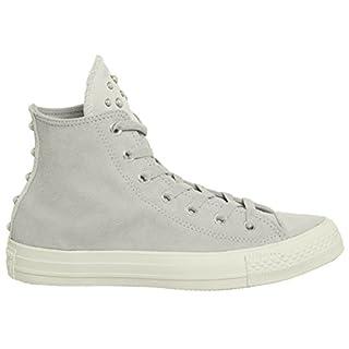 Converse All Star Hi Lthr Ash Grey Egret Blush Pearl Exclusive - 4 UK