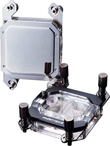 Phanteks Waterblock CPU pour LED RVB Base en cuivre nickelé Acrylique Coque Chrome - Ph-c350 a Cr01 9