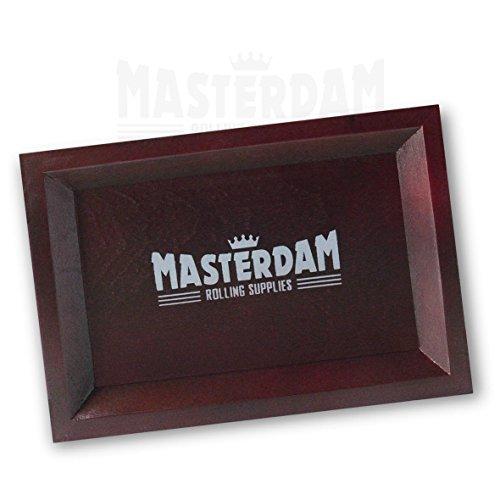 mastergear-premium-rouleau-en-bois-plateau-mark-ii-bois-dense-marron-fonce-18x12-compact