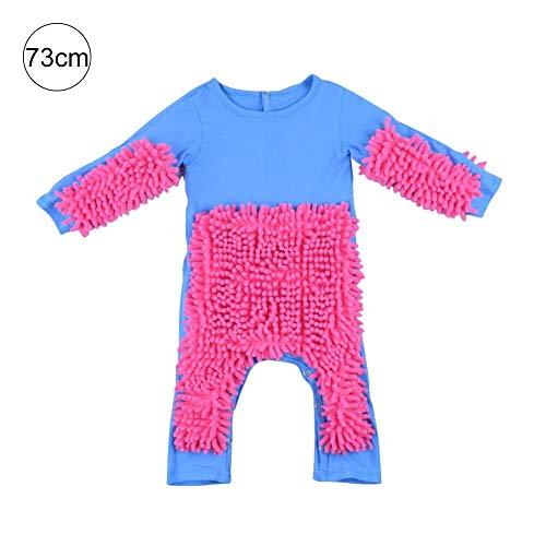 tingtin tingtin Strampler Baby Jumpsuit Kinder Langer Schlafanzug Einteiliger Baumwolle Kleidung Junge Mädchen Krabbeln Kleidung Baby Mopp