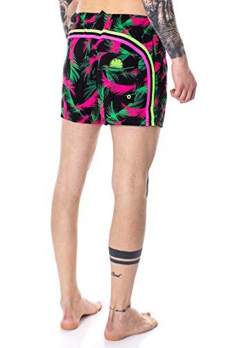 Sundek Costume da Bagno Uomo Pantaloncino Mare Vita Elasticizzata M504BDP77DF s Nero
