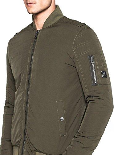 Calvin Klein Oxis 2 Padded Bomber Jacket, Cape Homme Vert