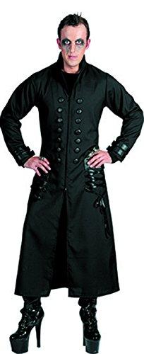 erdbeer-clown - Herren Halloween Karnevals-Kostüm Set Gothic Schrecken der Nacht, L, - Nacht Der Schrecken Gothic Kostüm