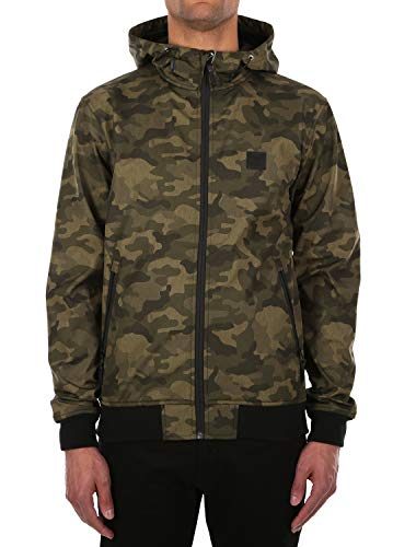 IRIEDAILY Sober Gridstop Jacket [Camou Olive]