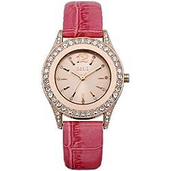Oasis Damen-Armbanduhr Analog Quarz B1298