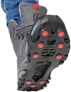 Ultrasport Outdoor Schuhspikes TÜV/GS zertifiziert in Universalgröße, schwarz, 36 - 40, 311-001-011-00001