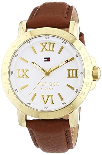 Reloj analógico para mujer Tommy Hilfiger 1781438, mecanismo de cuarzo, diseño clásico, correa de piel.