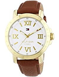 Tommy Hilfiger Watches Damen-Armbanduhr Analog Quarz Leder 1781438