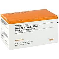 Hepar Comp.heel Ampullen 50 stk preisvergleich bei billige-tabletten.eu