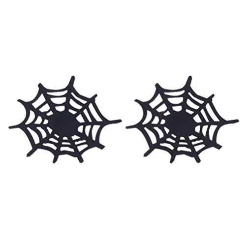 Halloween Lieferanten - Amosfun 2 stücke Bahn Spinnennetz Form