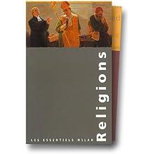 Les Essentiels, coffret 5 volumes : Religions