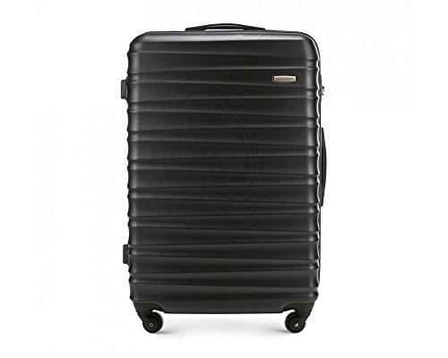 Blancanieves Grande maletín, Color: Negro, Material: ABS, tamaño: 77x 52x 29cm, Peso: 4.1kg, Capacidad: 96L | Colección: Groove Line | 56–3A de 313–10