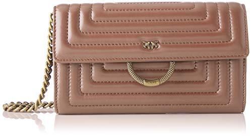 Pinko honolulu wallet, portafoglio donna, avorio (nude), 3x19x12 cm (w x h x l)