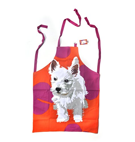 Westie Apron by Leslie Gerry