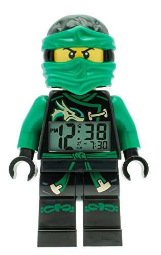 LEGO-Unisex-Wecker-Digital-Green-9009402