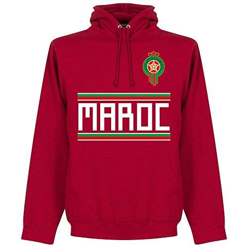 Marokko Team Kapuzenpullover - rot - M