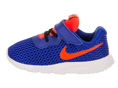 Nike Jungen Kleinkinder Tanjun (TDV) Laufschuh 7 Infants US 7 M US Kind Racer Blau/Total purpurnes Schwarz