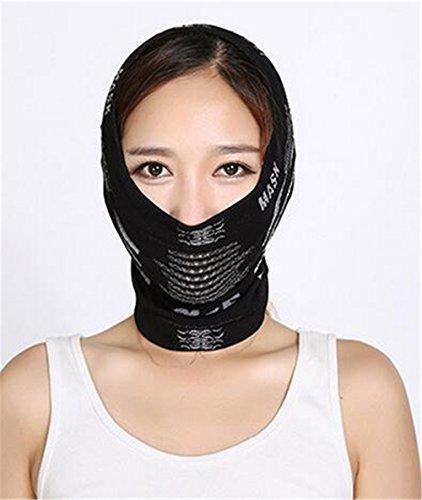 Swallowuk Outdoor multifunktionale Magic Maske, winddichtes warmes Gesichtstuch, Gesichtsmaske Motorrad Tactical Ski-Gesichtsmaske, Skimaske Motorradmaske (Schwarz)