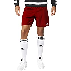 adidas Parma 16 Sho Pantalón Corto, Hombre, Rojo (Rojpot / Blanco), XL