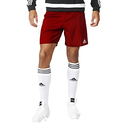 adidas Herren Shorts Parma 16, power red/white, S, AJ5881 (Pant Adidas Training)