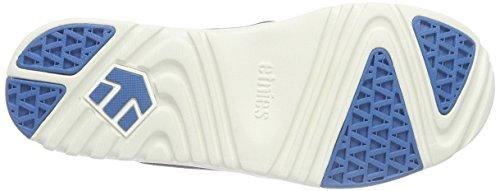 Etnies SCOUT Damen Sneakers Schwarz (Black/White/Green)