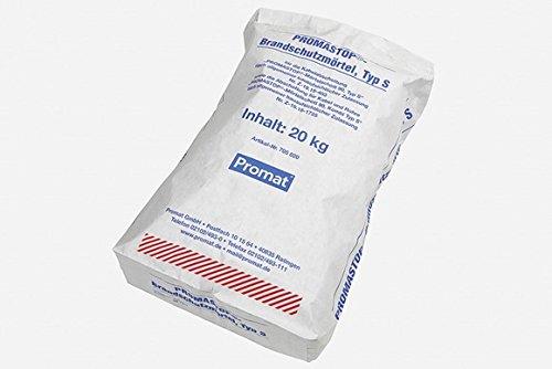 PROMASTOP-Brandschutzmörtel, Typ S 20 kg/ Sack