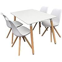 Amazon Fr Table Scandinave Ensembles Pour Salle A Manger Salle